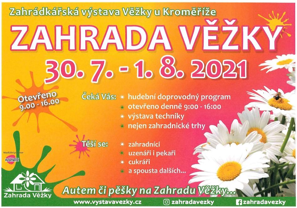 ZAHRADA VĚŽKY 30.7.-1.8.2021